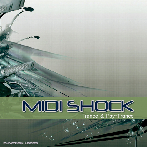 Product picture MIDI SHOCK: Psy-Trance MIDI pack